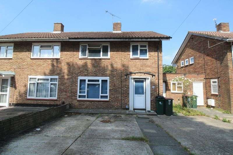 3 Bedrooms Semi Detached House for sale in Rushetts Road, Crawley