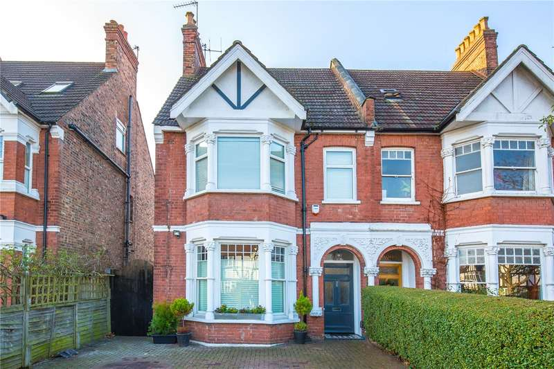5 Bedrooms Semi Detached House for sale in Long Lane, Finchley Central, London, N3