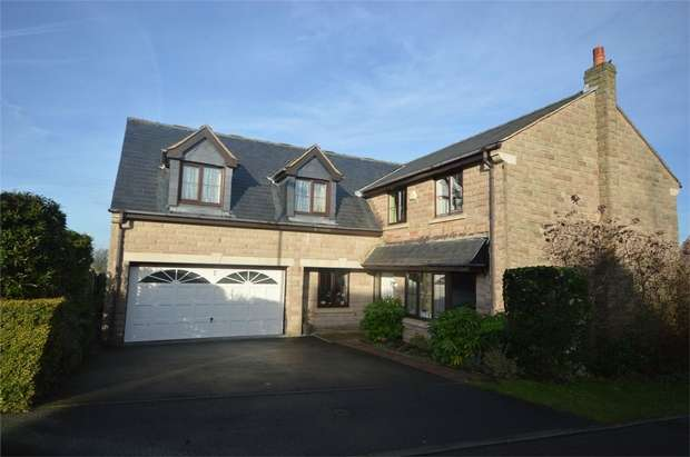 5 Bedrooms Detached House for sale in Greenacre Gate, Lepton, HUDDERSFIELD, West Yorkshire