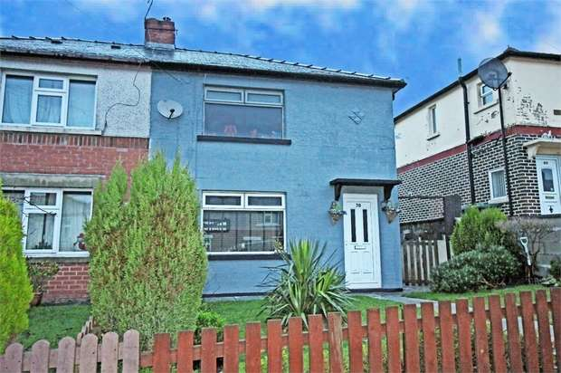 2 Bedrooms Semi Detached House for sale in Hillside Road, Haslingden, Rossendale, Lancashire