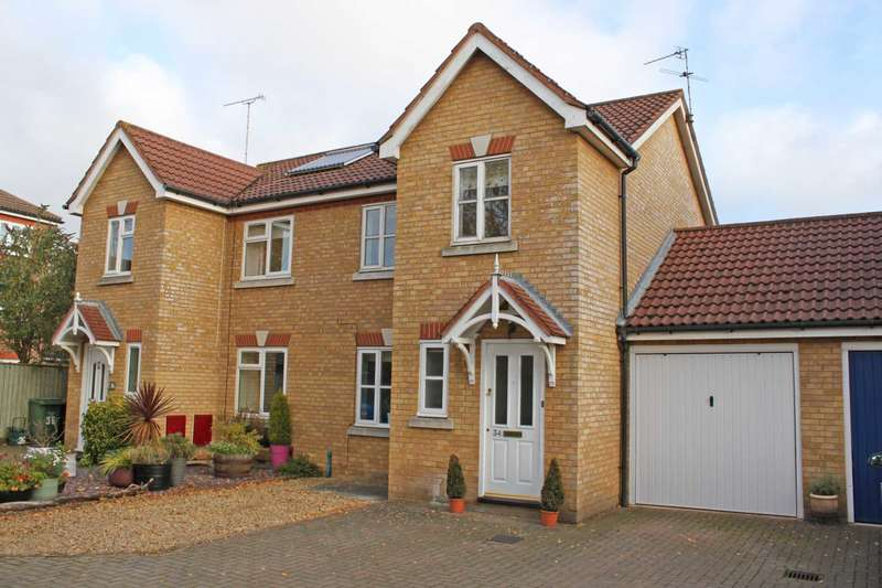 3 Bedrooms Semi Detached House for sale in Dagdale Drive, Didcot