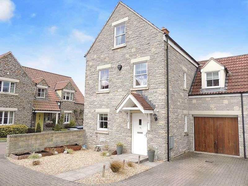 5 Bedrooms Semi Detached House for sale in Baron Close, Bitton, Bristol