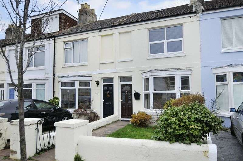 2 Bedrooms Terraced House for sale in The Drive, Worthing
