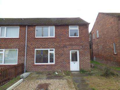 3 Bedrooms Semi Detached House for sale in Maes Afon, Flint, Flintshire, CH6