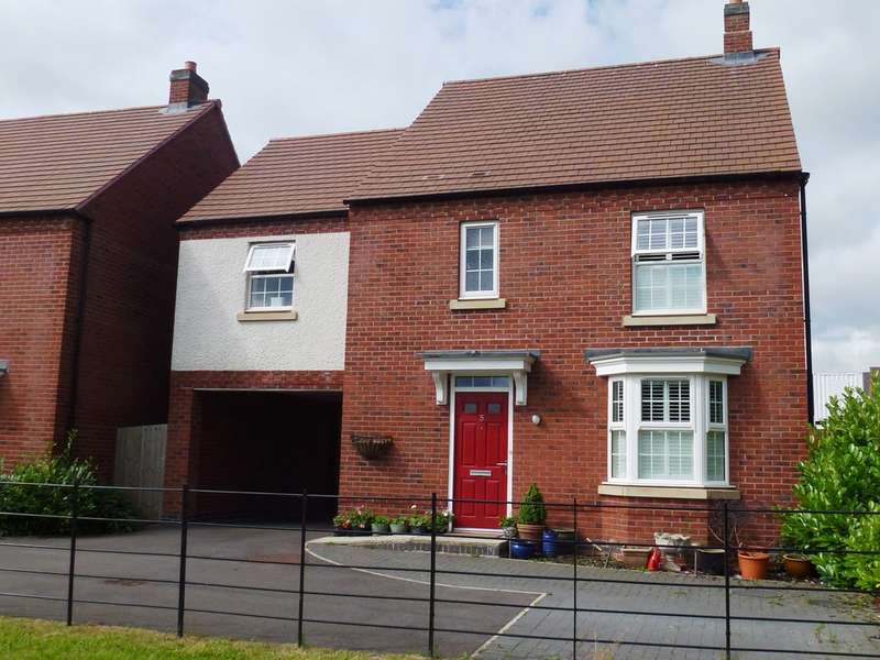 4 Bedrooms Detached House for sale in Merchantman Mews, Castle Donington