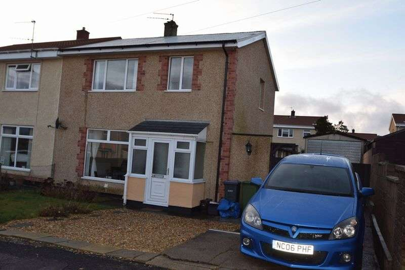 3 Bedrooms Semi Detached House for sale in Gwyn Crescent, Varteg, Three Bedrooms