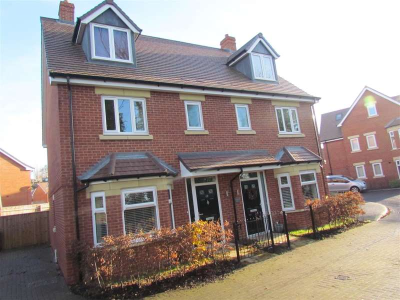 4 Bedrooms Semi Detached House for sale in Gregorys Bank, Worcester