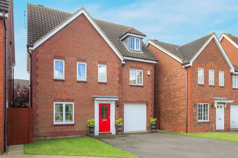 6 Bedrooms Detached House for sale in Dragonfly Close, Hampton Hargate, Peterborough, PE7