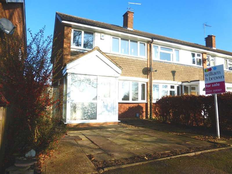3 Bedrooms End Of Terrace House for sale in Chillingham Green, Bedford, MK41