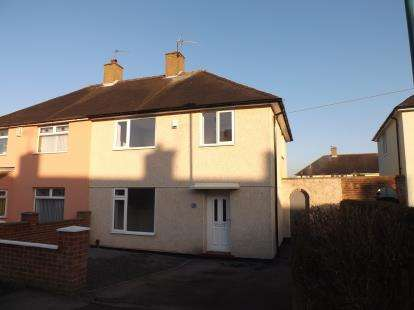 3 Bedrooms Semi Detached House for sale in Colesbourne Road, Clifton, Nottingham