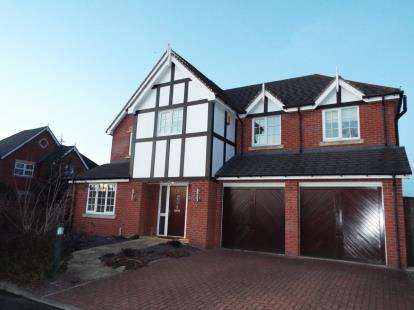 5 Bedrooms Detached House for sale in Druitt Court, Haslington, Crewe, Cheshire
