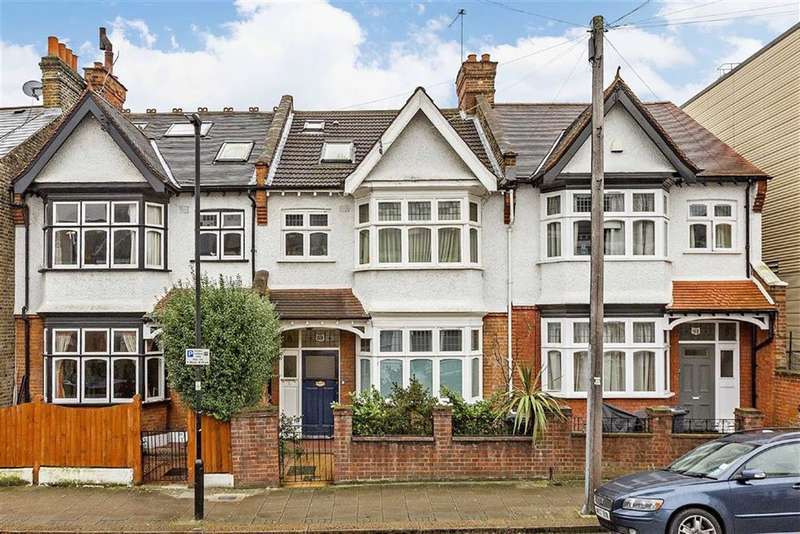 2 Bedrooms Maisonette Flat for sale in Voltaire Road, London