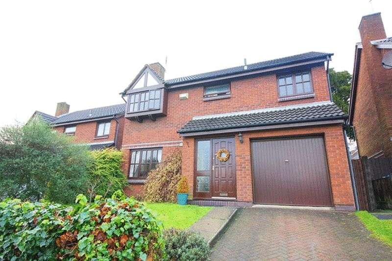 4 Bedrooms Detached House for sale in Reynolds Way, Woolton, Liverpool, L25
