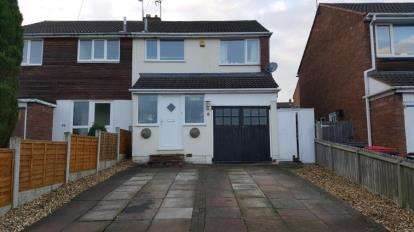 3 Bedrooms Semi Detached House for sale in Laurel Avenue, Polesworth, Tamworth, Warwickshire