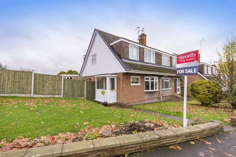 3 Bedrooms Semi Detached House for sale in LADYBANK ROAD, MICKLEOVER
