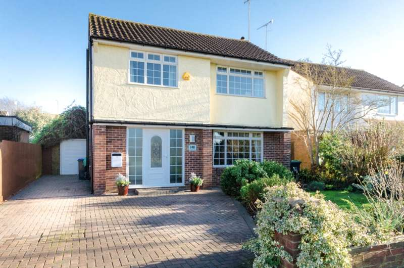 4 Bedrooms Detached House for sale in Western Road, Sompting, West Sussex, BN15