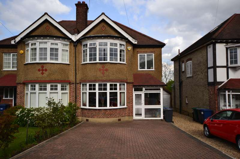 3 Bedrooms Semi Detached House for sale in St. James Close, Whetstone, N20