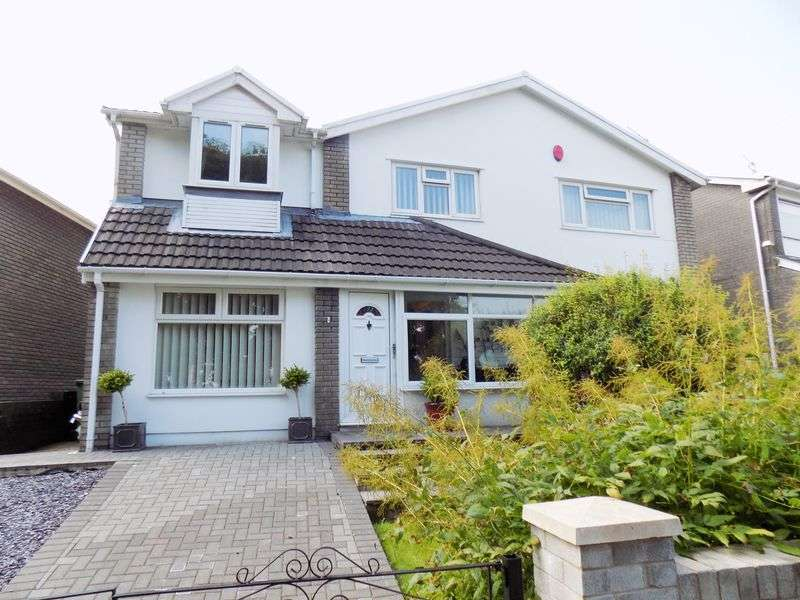 4 Bedrooms Detached House for sale in Dan-y-Felin, Pontyclun