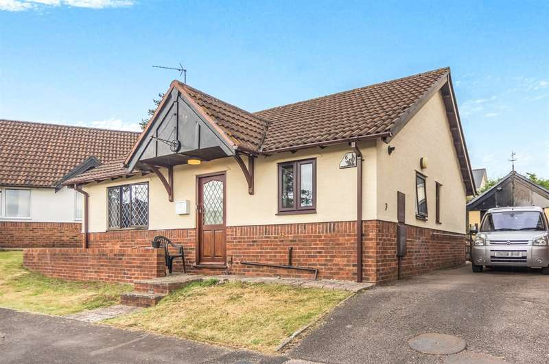 2 Bedrooms Detached Bungalow for sale in Orchard End, Wyesham, Monmouth