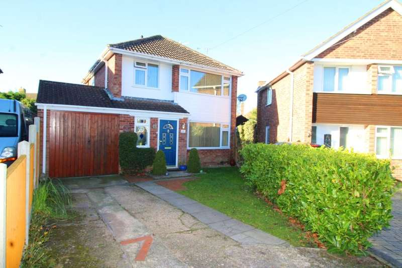 3 Bedrooms Detached House for sale in Bath Close, Sapcote, Leicester, LE9