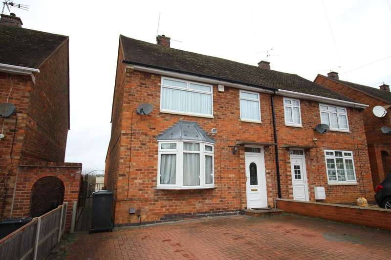 3 Bedrooms Semi Detached House for sale in Withcote Avenue, Goodwood, Leicester