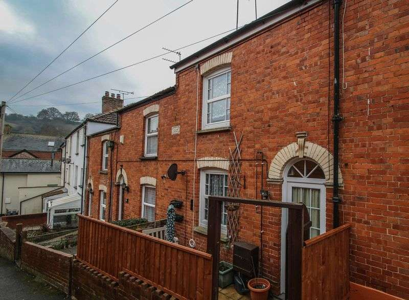 2 Bedrooms Terraced House for sale in 5 Laburnum Cottages, Belle Court, High Street, Crediton