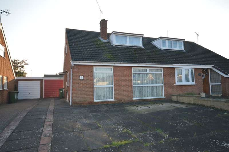 2 Bedrooms Semi Detached Bungalow for sale in Cherry Tree Close, Countesthorpe, Leicester, LE8