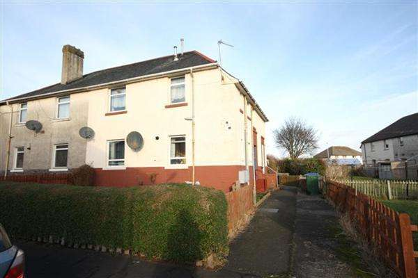 2 Bedrooms End Of Terrace House for sale in Manson Avenue, Prestwick