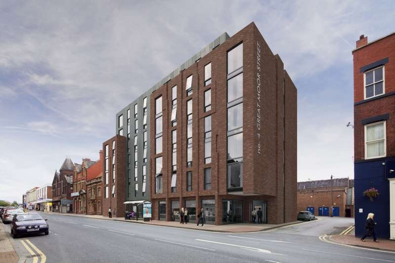 1 Bedroom Studio Flat for sale in Great Moor Street, Bolton, BL1