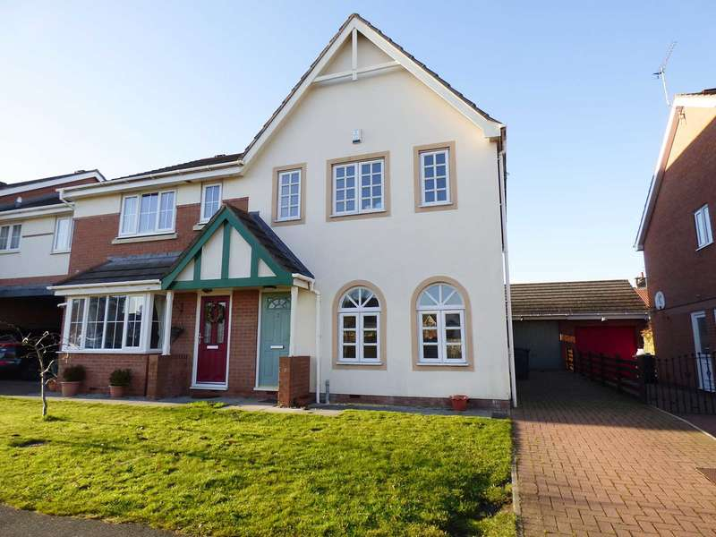 3 Bedrooms Semi Detached House for sale in Chandlers Rest, Lytham