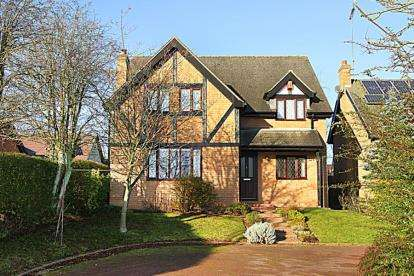 4 Bedrooms Detached House for sale in Lakelands, Wingerworth, Chesterfield, Derbyshire