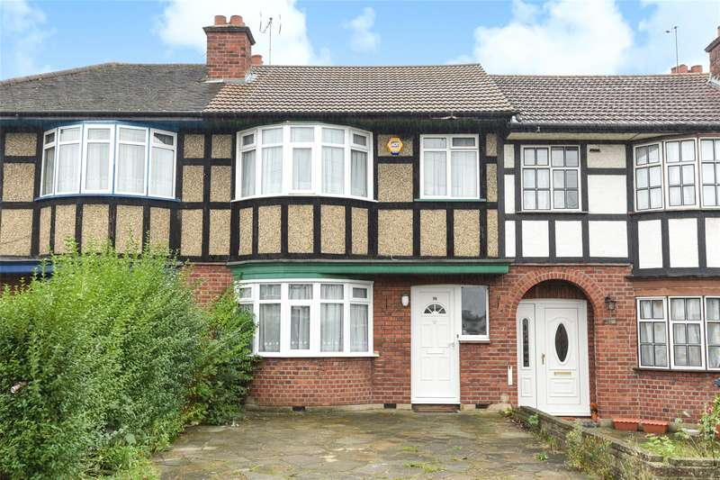 3 Bedrooms Terraced House for sale in Warden Avenue, Harrow, Middlesex, HA2