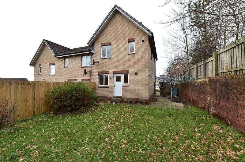 3 Bedrooms Terraced House for sale in Ferguson Way, Airdrie, ML6 6EX