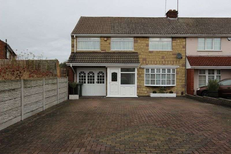 4 Bedrooms Semi Detached House for sale in Graham Close, Tipton