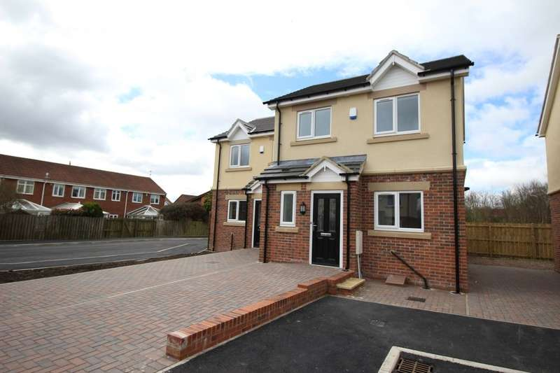 2 Bedrooms Semi Detached House for sale in Kensington Close, Seghill, Cramlington, NE23
