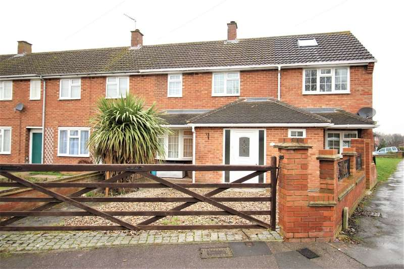 4 Bedrooms End Of Terrace House for sale in Redwood Drive, Hemel Hempstead