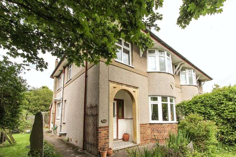 3 Bedrooms Semi Detached House for sale in Coleridge Vale Road East, Clevedon
