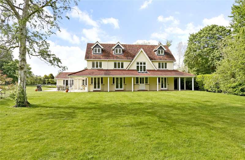 5 Bedrooms Detached House for sale in Riverwoods Drive, Marlow, Buckinghamshire, SL7