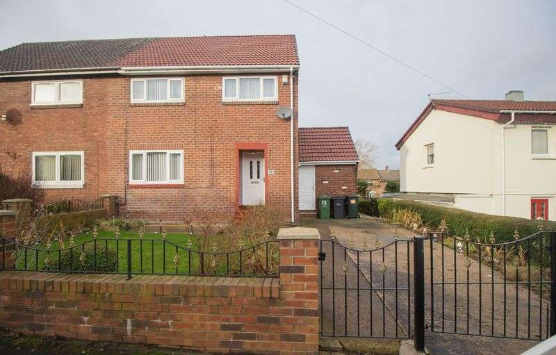 3 Bedrooms Semi Detached House for sale in Tynebank, Blaydon