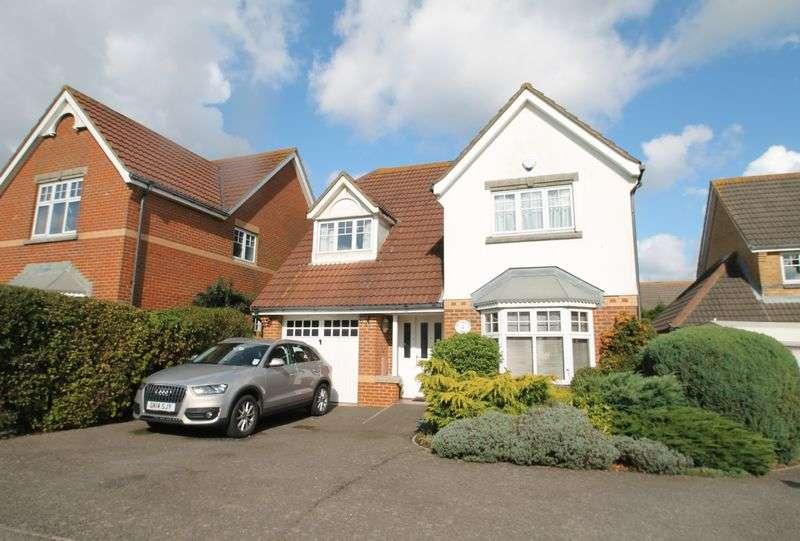 4 Bedrooms Detached House for sale in Proctor Walk, Folkestone