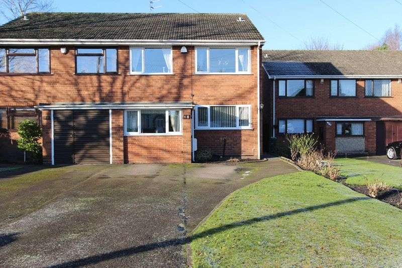 3 Bedrooms Semi Detached House for sale in Coneygree Road, Tipton