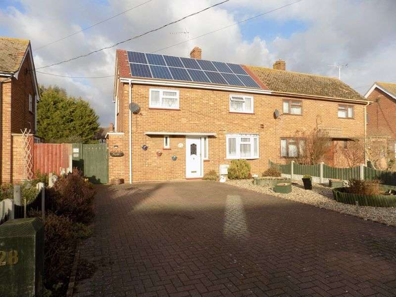 3 Bedrooms Semi Detached House for sale in With it's 35ft frontage (approx.) providing plenty of off road parking, approx. 55ft rear garden, three double bedrooms, ground floor bathroom, first