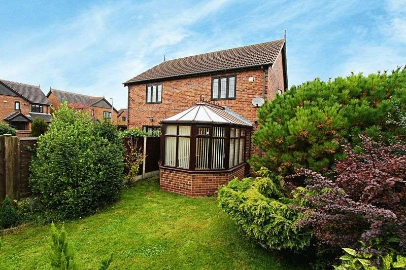 2 Bedrooms Semi Detached House for sale in Harvest Rise, Barrow-Upon-Humber