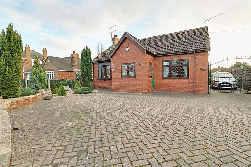 2 Bedrooms Detached Bungalow for sale in Moorwell Road, Scunthorpe