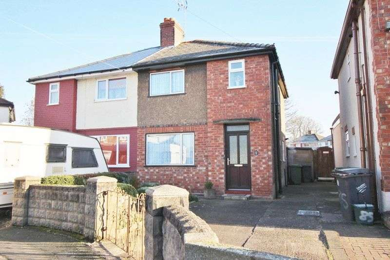3 Bedrooms Semi Detached House for sale in Crathorne Avenue, Wolverhampton