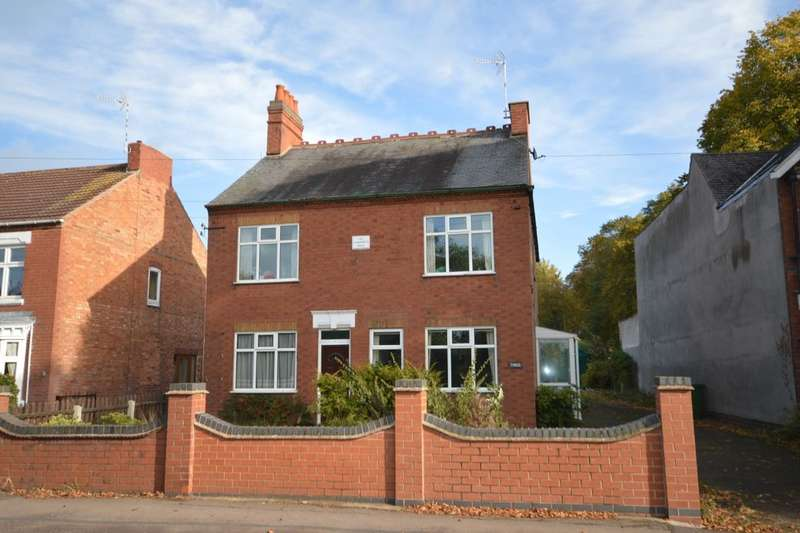 4 Bedrooms Detached House for sale in Narborough Road, Cosby, Leicester, LE9