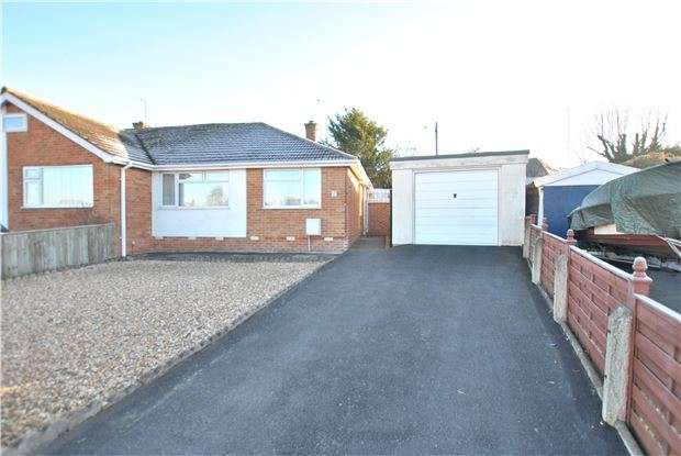 2 Bedrooms Semi Detached Bungalow for sale in St. Albans Close, CHELTENHAM, GL51 3DW