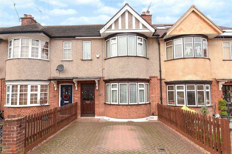 2 Bedrooms Terraced House for sale in Bridgwater Road, South Ruislip, Middlesex, HA4