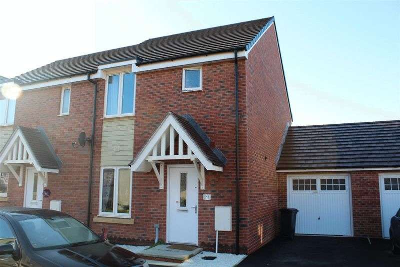 3 Bedrooms Semi Detached House for sale in Slingsby Gardens, Weston-Super-Mare