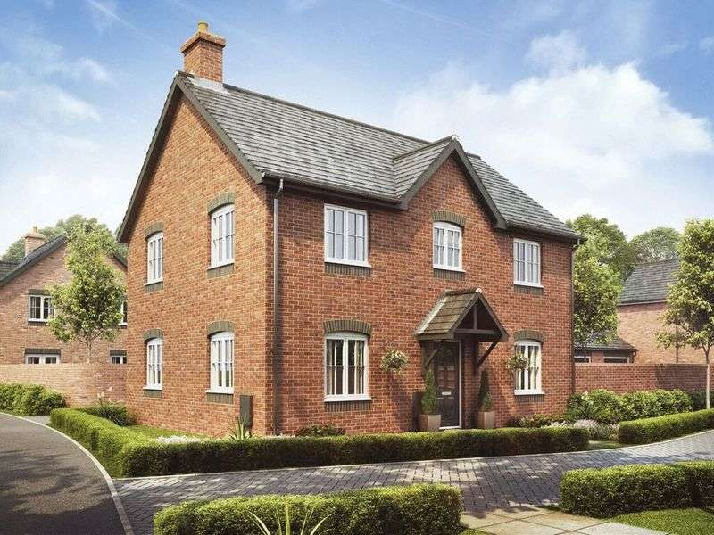 4 Bedrooms Detached House for sale in Plot 4, The Birch, Barley Fields, Uttoxeter